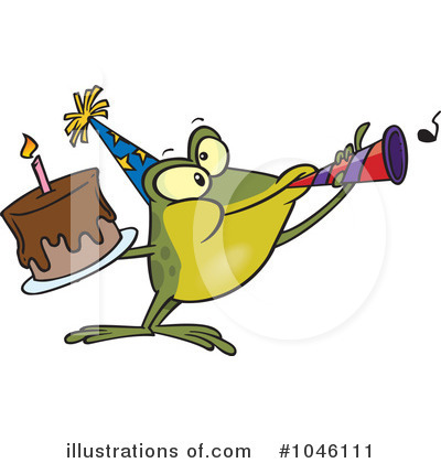 Birthday Cake Clipart 1046111 By Toonaday