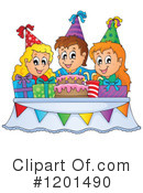 Birthday Clipart #1201490 by visekart