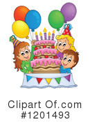 Birthday Clipart #1201493 by visekart