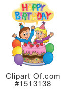 Birthday Clipart #1513138 by visekart