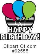 Birthday Clipart #92555 by Andy Nortnik