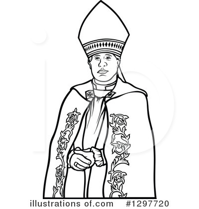 Bishop Clipart 1297720 Illustration By Dero