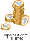 Bitcoin Clipart #1515740 by beboy