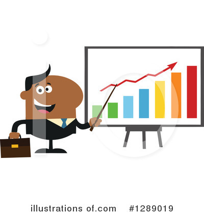 Businessman Clipart #1289019 by Hit Toon