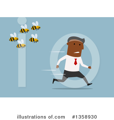 Bee Clipart #1358930 by Vector Tradition SM