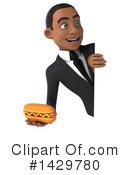 Black Businessman Clipart #1429780 by Julos