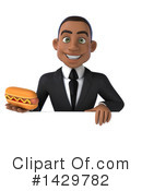 Black Businessman Clipart #1429782 by Julos