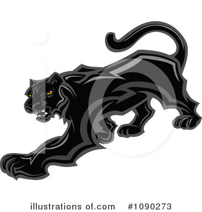 Panther Clipart #1090273 by Chromaco