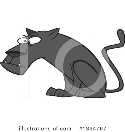Panther Clipart #1364767 by toonaday