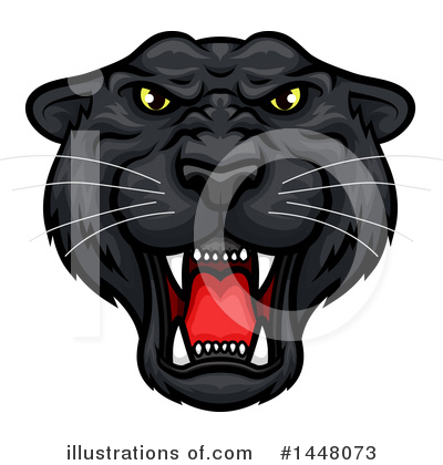Panther Clipart #1448073 by Vector Tradition SM