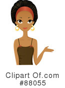 Black Woman Clipart #88055 by Melisende Vector