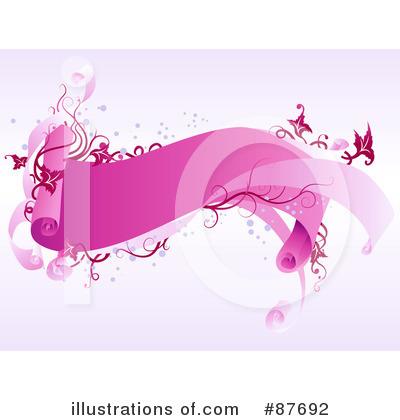 Blank Banner Clipart #87692 - Illustration by BNP Design Studio