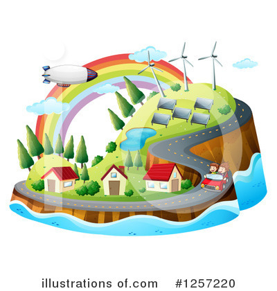 Green Energy Clipart #1257220 by Graphics RF