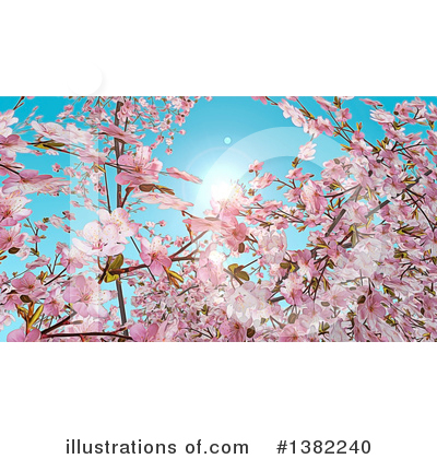 Blossoms Clipart #1382240 by KJ Pargeter