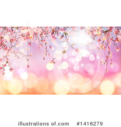 Blossoms Clipart #1416279 by KJ Pargeter