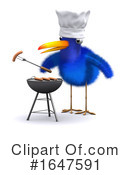 Blue Bird Clipart #1647591 by Steve Young