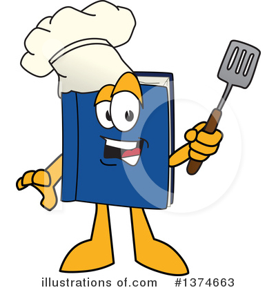 Cook Book Clipart #1374663 by Toons4Biz