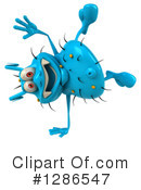 Blue Germ Clipart #1286547 by Julos