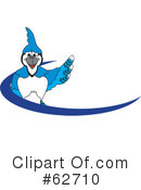 Blue Jay Mascot Clipart #62710 by Toons4Biz