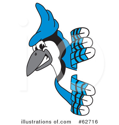 blue jay mascot clipart 62716 illustration by toons4biz rh illustrationsof com toronto blue jay clipart blue jay clipart for school shirts