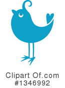 Bluebird Clipart #1346992 by Vector Tradition SM
