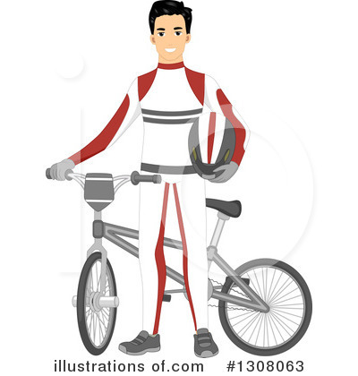 Bicycle Clipart #1308063 by BNP Design Studio