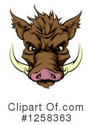 Boar Clipart #1258363 by AtStockIllustration