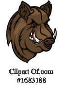 Boar Clipart #1683188 by Vector Tradition SM