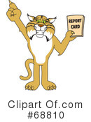 Bobcat Character Clipart #68810 by Toons4Biz