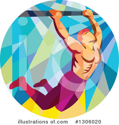 Bodybuilder Clipart #1306020 by patrimonio