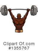 Bodybuilder Clipart #1355767 by Vector Tradition SM