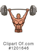 Bodybuilding Clipart #1201646 by Vector Tradition SM