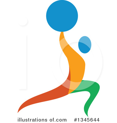 Weightlifting Clipart #1345644 by patrimonio