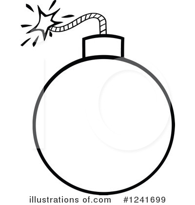 bomb clipart 1241699 illustration by hit toon rh illustrationsof com bomb clipart transparent bomb clipart outline