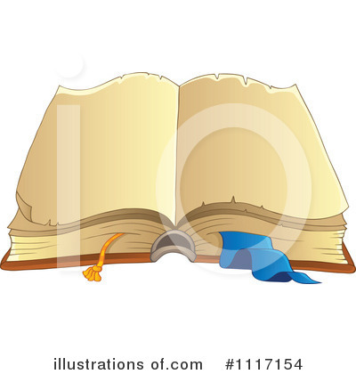 Open Book Clipart #1117154 by visekart