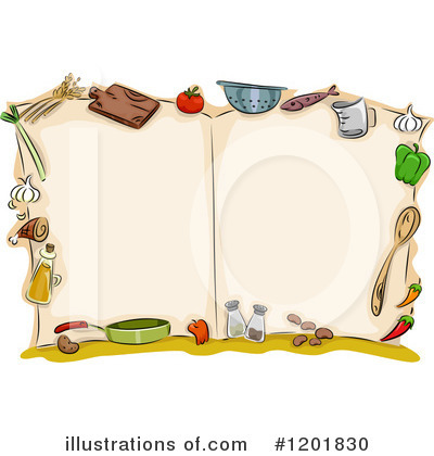 Cook Book Clipart #1201830 by BNP Design Studio