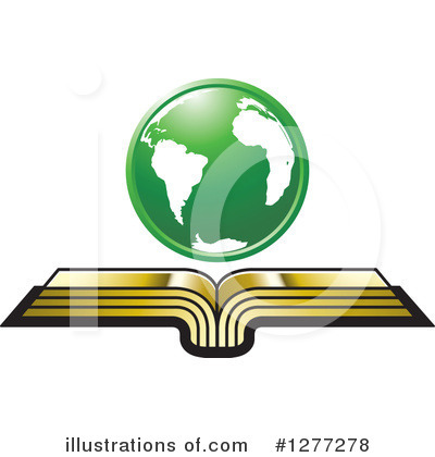 Open Book Clipart #1277278 by Lal Perera