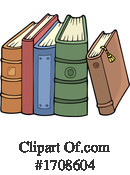 Book Clipart #1708604 by visekart