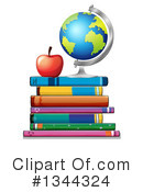 Books Clipart #1344324 by Graphics RF