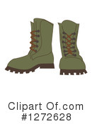 Boots Clipart #1272628 by peachidesigns