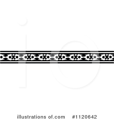 Royalty-Free (RF) Border Clipart Illustration by Prawny Vintage - Stock Sample #1120642