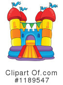 Bounce House Clipart #1189547 by visekart