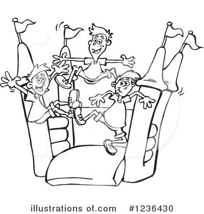 Bouncy House Clipart 1236430