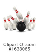 Bowling Clipart #1638065 by Steve Young