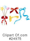 Bows Clipart #24975 by Eugene