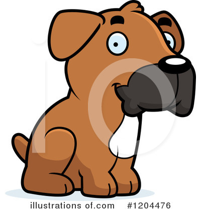 Dog Clipart #1204476 by Cory Thoman