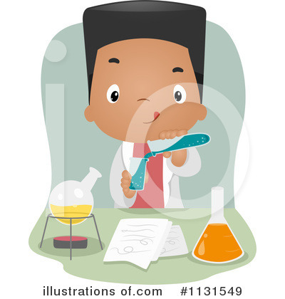 Scientist Clipart #1131549 by BNP Design Studio