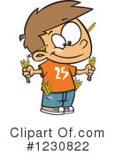 Boy Clipart #1230822 by toonaday