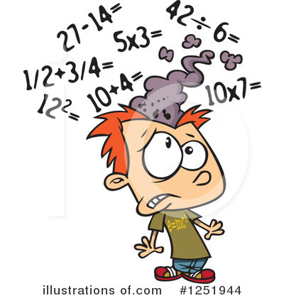 Math Clipart #1251944 by toonaday