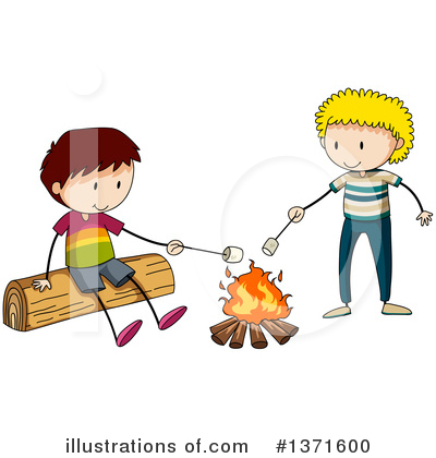 Campfire Clipart #1371600 by Graphics RF